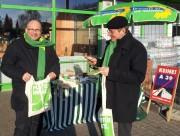 Detlev und Thomas am Grünen Tisch Reppenstedt