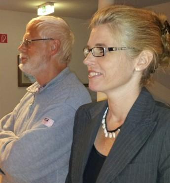 Jürgen Backhaus und Claudia Kalisch