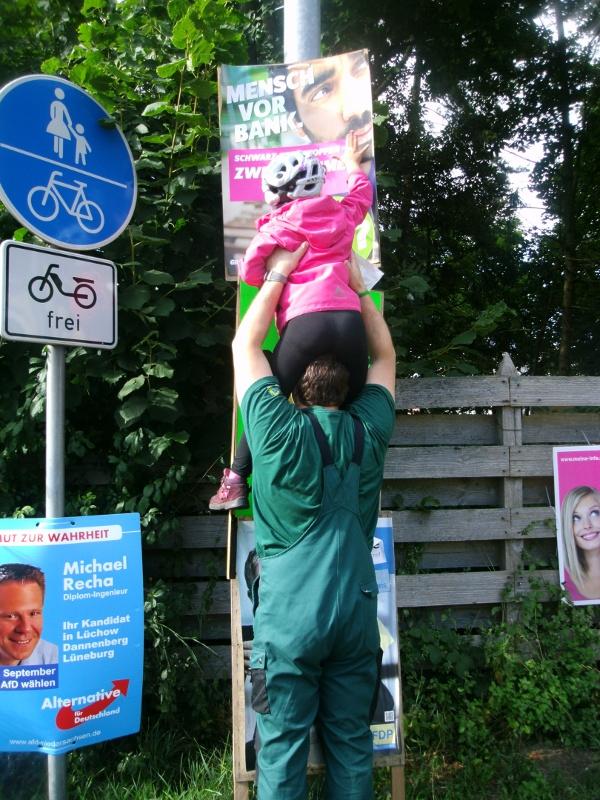 Plakatpflege in Reppenstedt