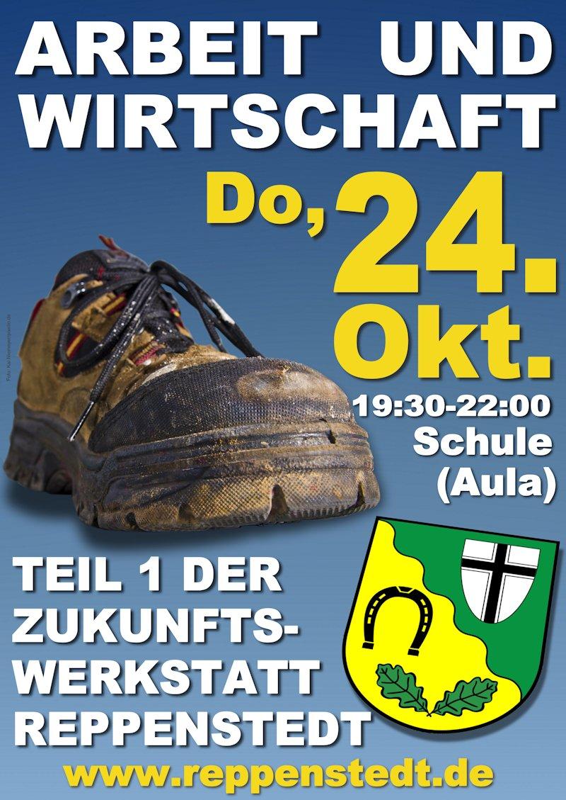 Plakat Arbeit und Wirtschaft