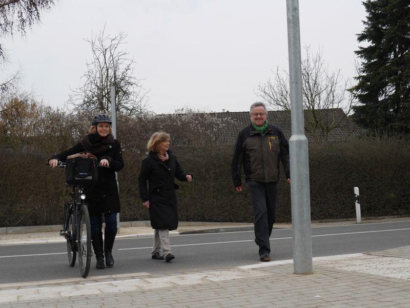 Claudia Kalisch, Cornelia Bonin und Klaus-Dieter Jansen