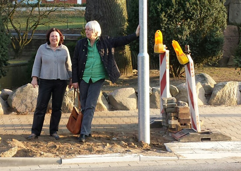 Sabine Glodzei und Dagmar Gollers könnens kaum erwarten