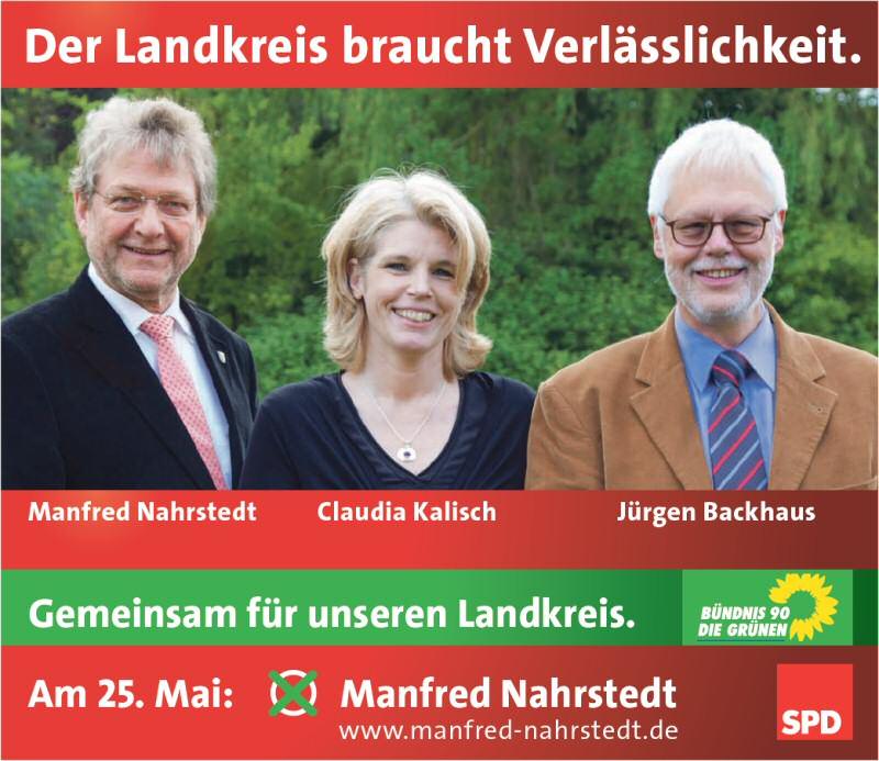 Reppenstedter Unterstützung für Manfred Nahrstedt