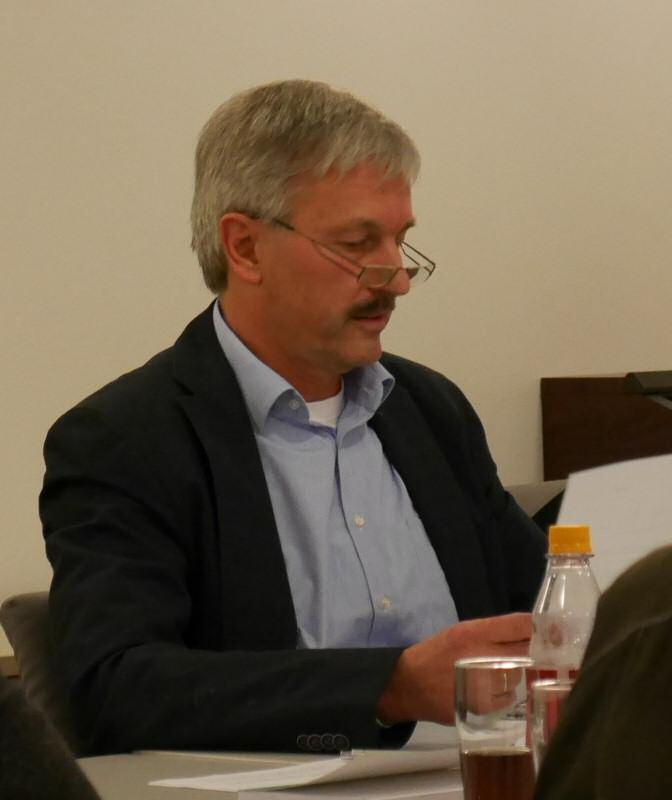 Stellte seine Ämter zur Verfügung: Andreas Bahlburg