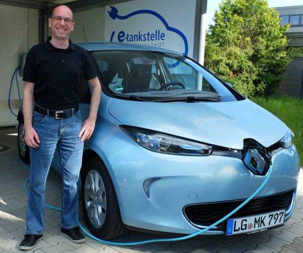 Oliver Kraemer elektromobil