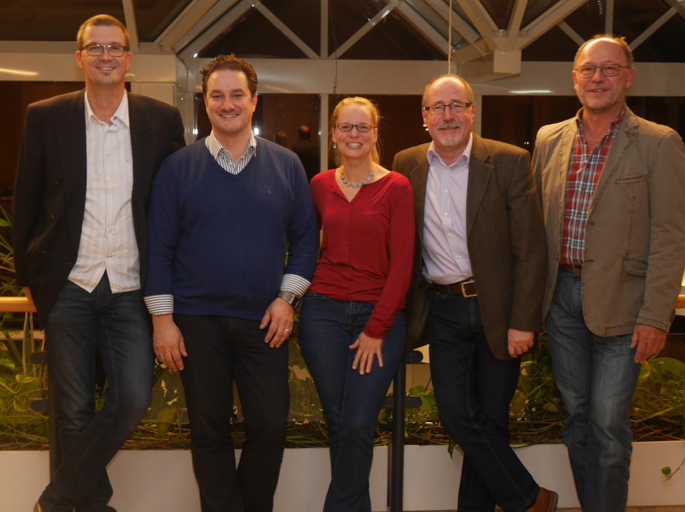 Die neue Grünen-Fraktion im Reppenstedter Rat