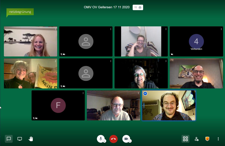 Derzeit Routine: Grüne Politik im digitalen Raum
