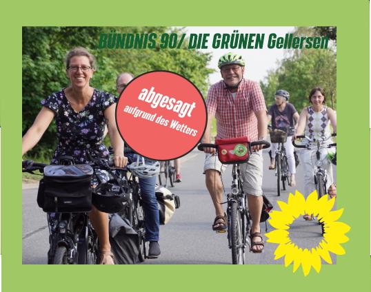 Klönschnack mit Grüns – Radtour Sa, 28.08.- !abgesagt aufgrund des Wetters