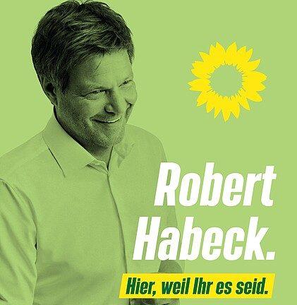 Robert Habeck in Lüneburg